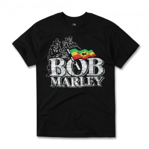 [BOBMARLEY] DISTRESSED LOGO