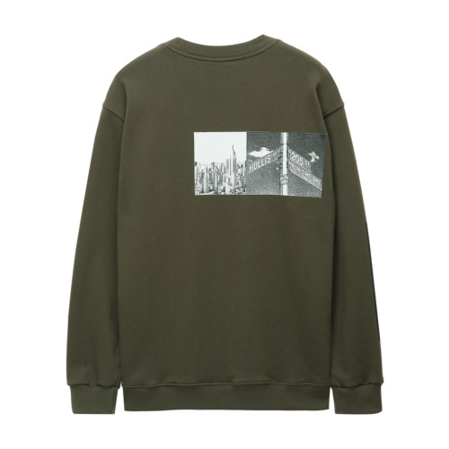 [RUN DMC] JMJWAY CREWNECK KHAKI