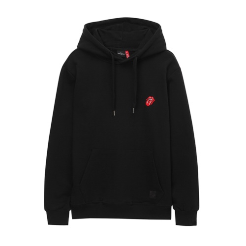 [THE ROLLING STONES] CLASSIC TONGUE 2 HOODIE BLACK