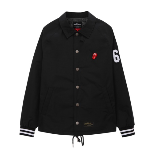 [THE ROLLING STONES] IORR COACH JACKET (BLACK)