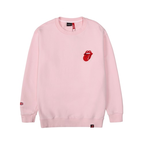 THE ROLLING STONES VINTAGE TONGUE SWEATSHIRT PINK