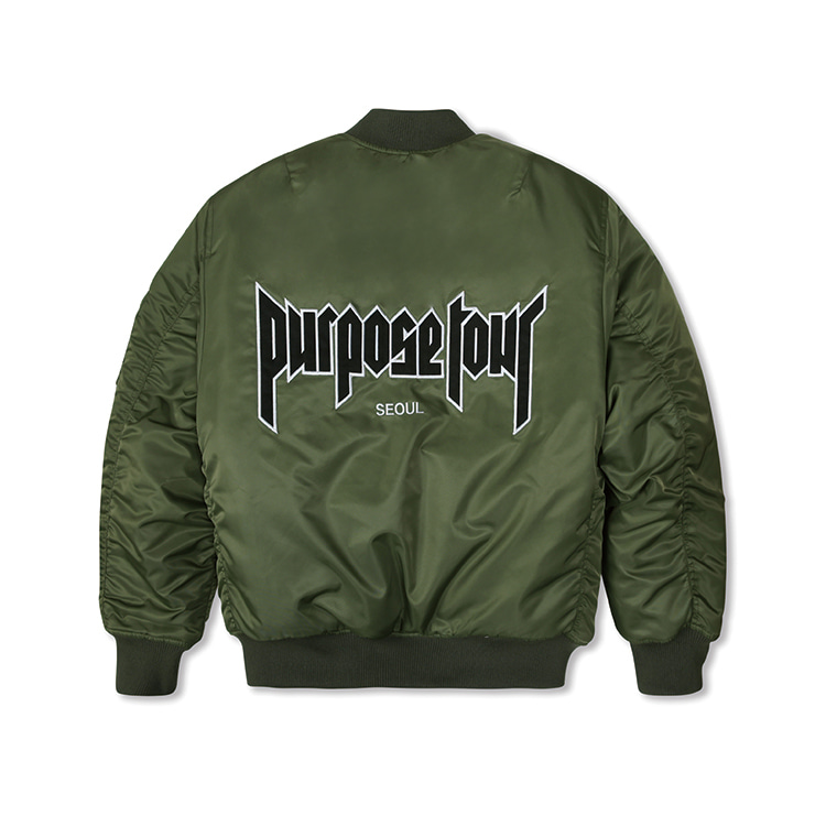 PURPOSE TOUR MA-1 KHAKI