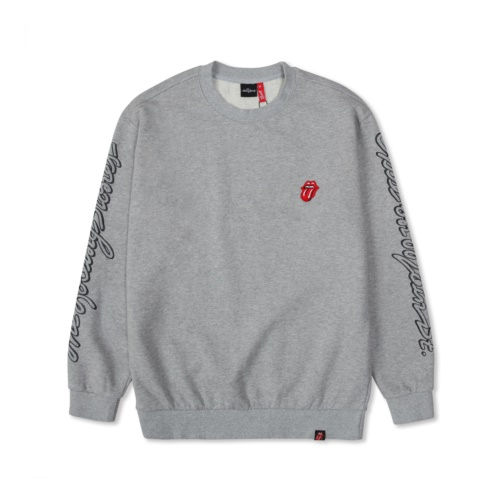 THE ROLLING STONES EXILE ON MAIN ST SWEATSHIRT GREY