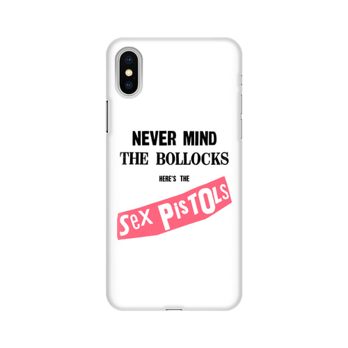 SP NEVER MIND IPHONE X CASE (BRENT191)
