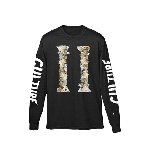 [Migos] CULTURE II LONG SLEEVE BLK