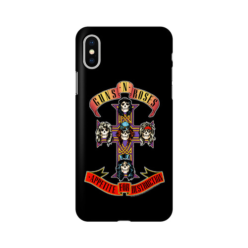 GNR APPETITE IPHONE X CASE (BRENT185)