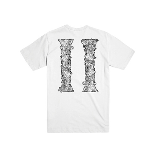 [Migos] CULTURE COLUMNS OUTLINE T-SHIRT WHITE